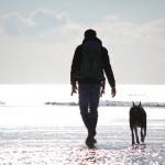 Freunde - Massimo und Diego am Strand